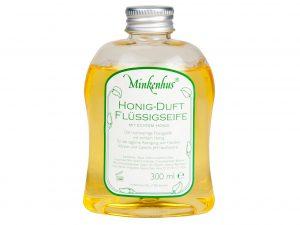 Minkenhus honingzeep navulverpakking - 300 ml