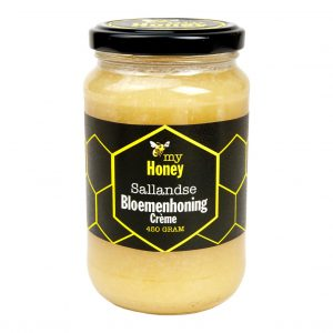 Sallandse Bloemenhoning crème 450 gram