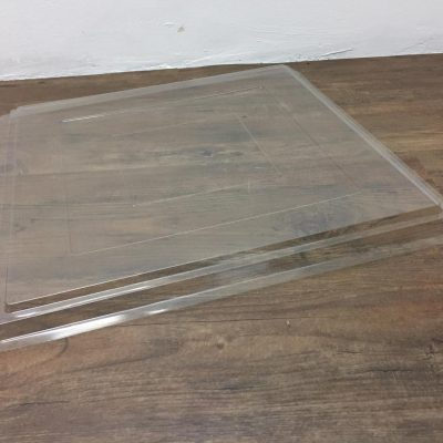 Segeberger SIMPLEX - voorgevormde afdekplaat kunstof