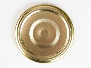 Deksel goud – toc 63 mm