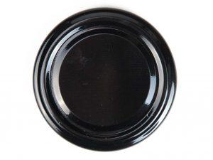Deksel zwart - toc 63 mm