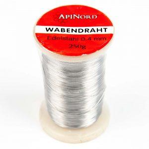 RVS draad ApiNord Ø 0,4 – 250 grams