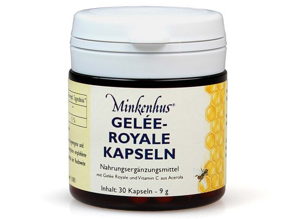 Minkenhus® royal jelly capsules