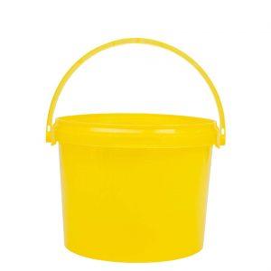 Honingemmer geel met deksel - 2,5 liter