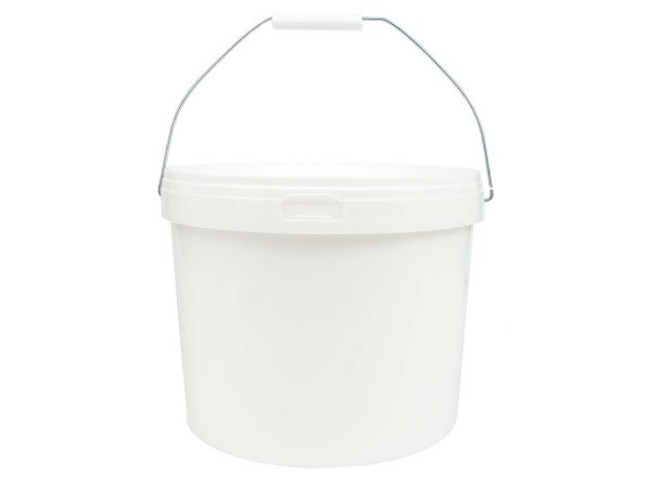 Honingemmer wit met deksel - 11 liter