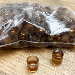Nicot omlarfdopjes plastic – per 100