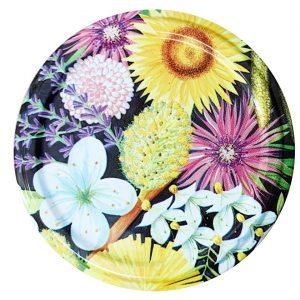 Deksel bloemen – toc 63 mm