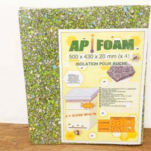 Isolatie voor dak, ApiFoam 500 x 430 x 20 mm - per 4