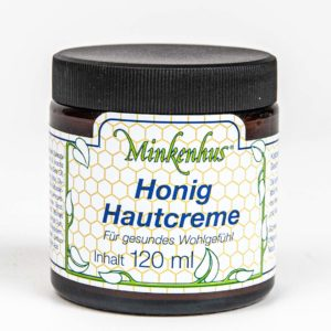 Minkenhus® honing huidcréme – 120 ml