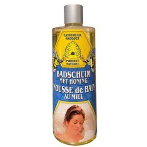 Badschuim met honing - 500 ml