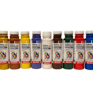 Decotric verf voor kunststof bijenkasten - 250 ml