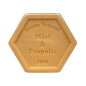 Plantaardige zeep met honing en propolis – 100 gram