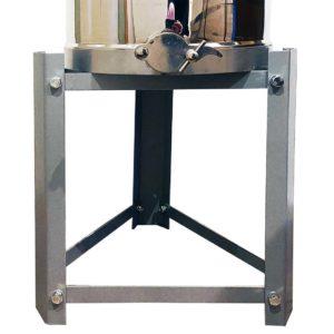 Voet voor Rijper – Aftapvat 25-50 kg grijs gelakt