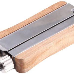 Draadspanner hout - stalen wieltjes